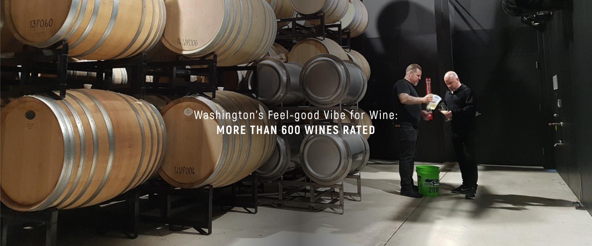 Washington's Feel-good Vibe for Wine