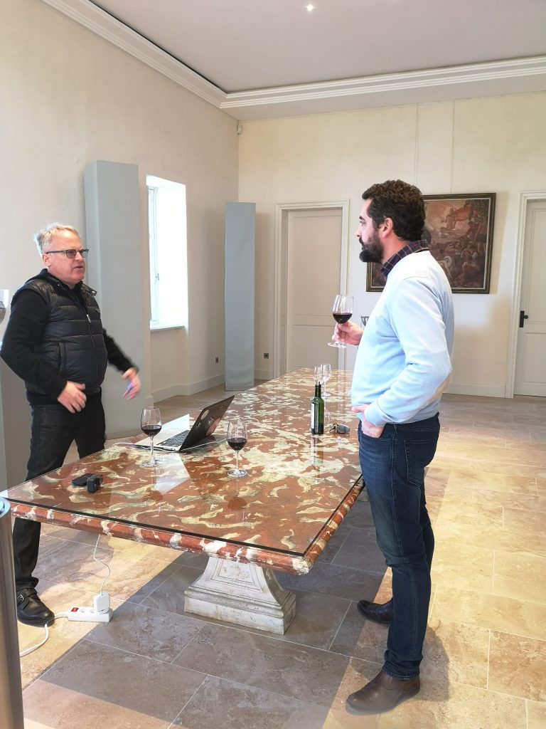 james talks to Olivier Berrouet