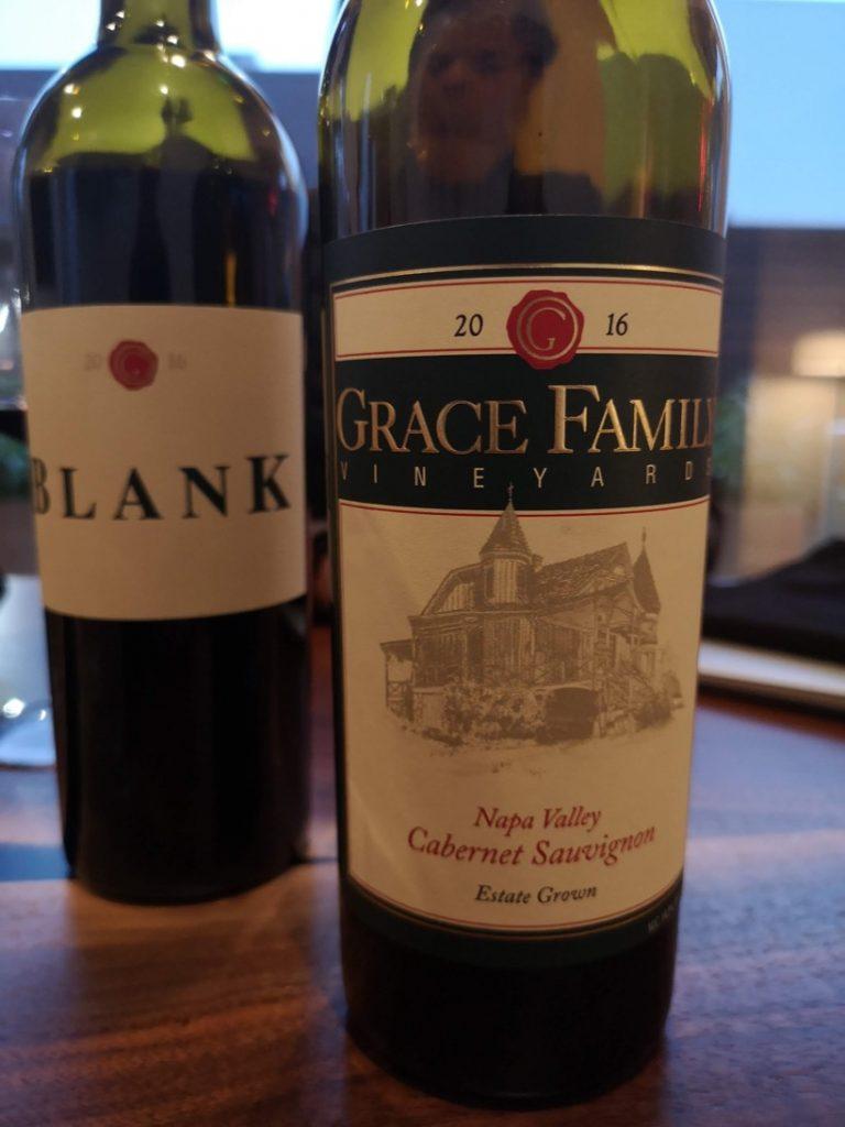 Grace Family Vineyards 2016.