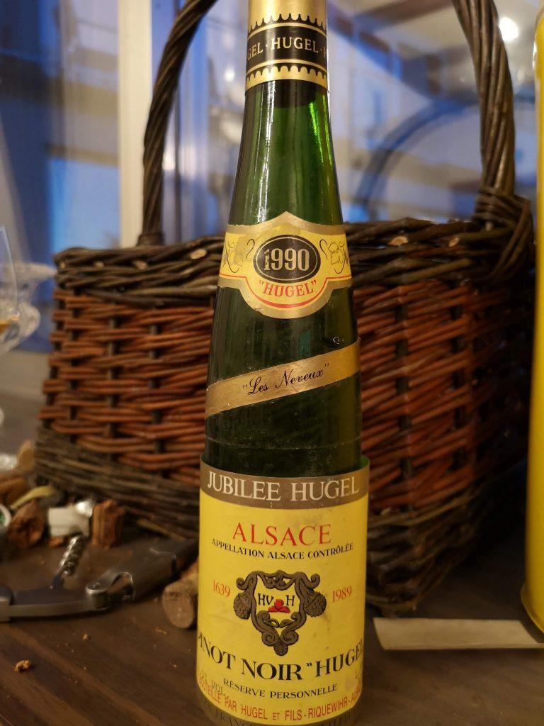 L'Alsace c'est le pinot noir.