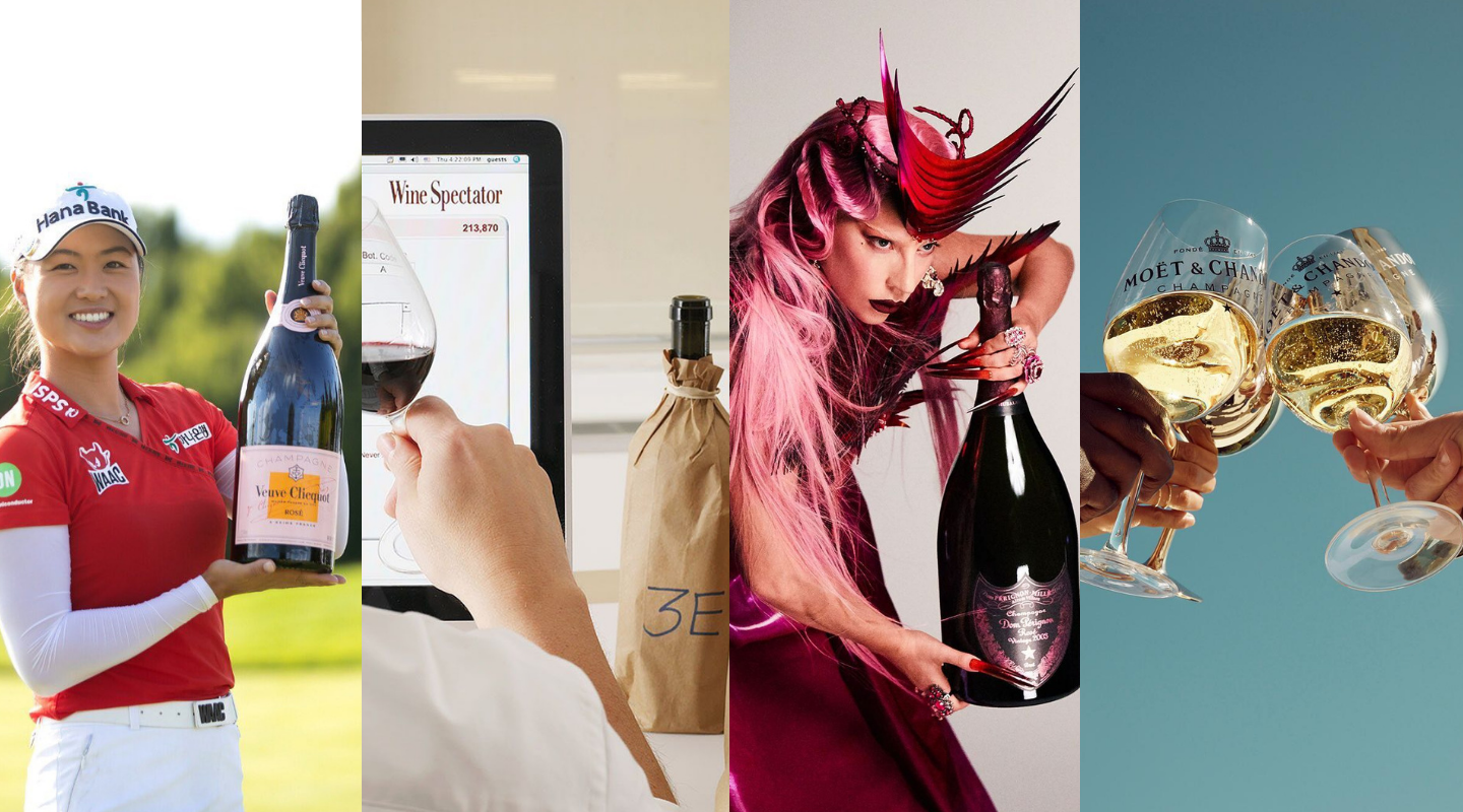 The Wine World's Instagram Edge: Champagne Houses Head Top 10 With Media Heavyweights Close Behind