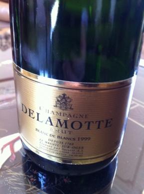 1999 Delamotte Blanc de Blancs - JamesSuckling.com